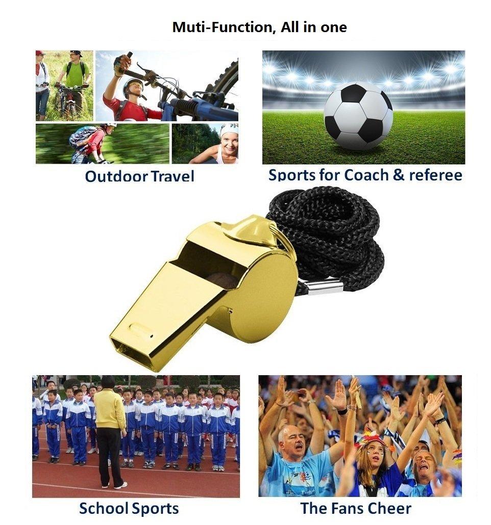 Kunststoff Sport Schiedsrichter Notfallpfeife Survival Kit Outdoor