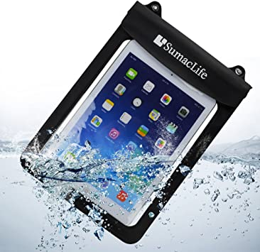 FREE SHIP Black//Blue Waterproof Pouch Dry Bag Case For Apple NEW iPad 2//3//4