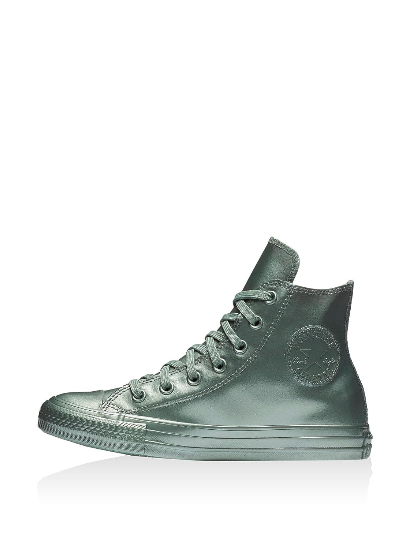 Converse AS Unisex Hi Can charcoal 1J793 Unisex AS Erwachsene Sneaker Metallic Silver 712adf