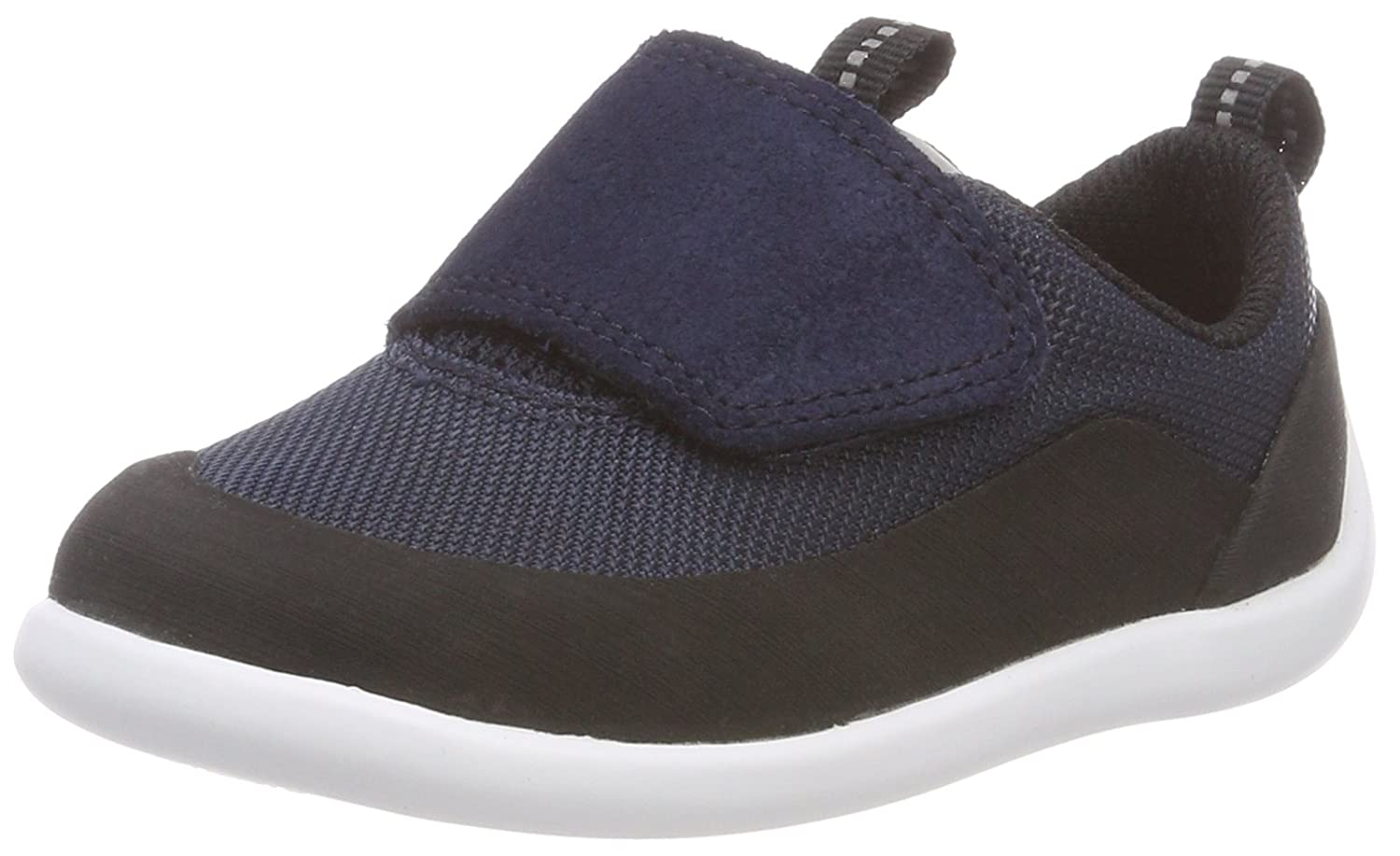 Clarks Play Spark, Zapatillas Unisex Niños 20 EU|Azul (Navy Synthetic -)