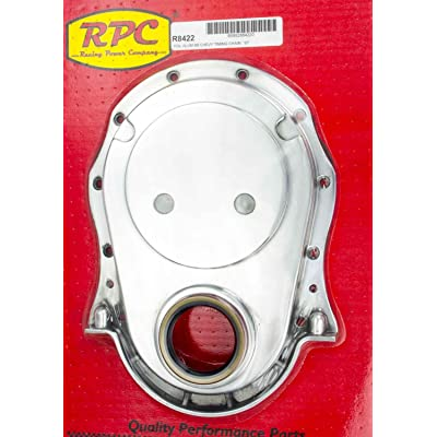 Racing Power Company R8422 Polished Aluminum Timing Chain Cover for Big Block Chevy: Automotive