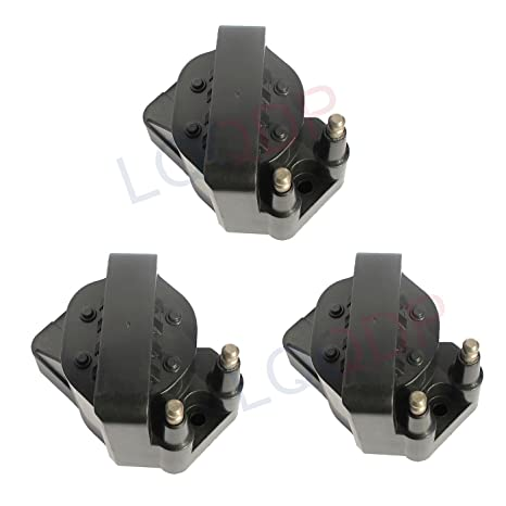 Amazon com: LQQDP Pack of 3 New Ignition Coils on Plug Packs For