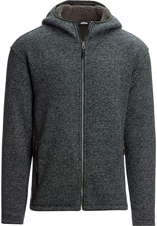 New Club Room Sherpa-lined fleece hoodie 3 colors to choose from