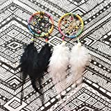 Rainbow Dreamcatcher - Rear view Mirror Accessory - FREE SHIPPING