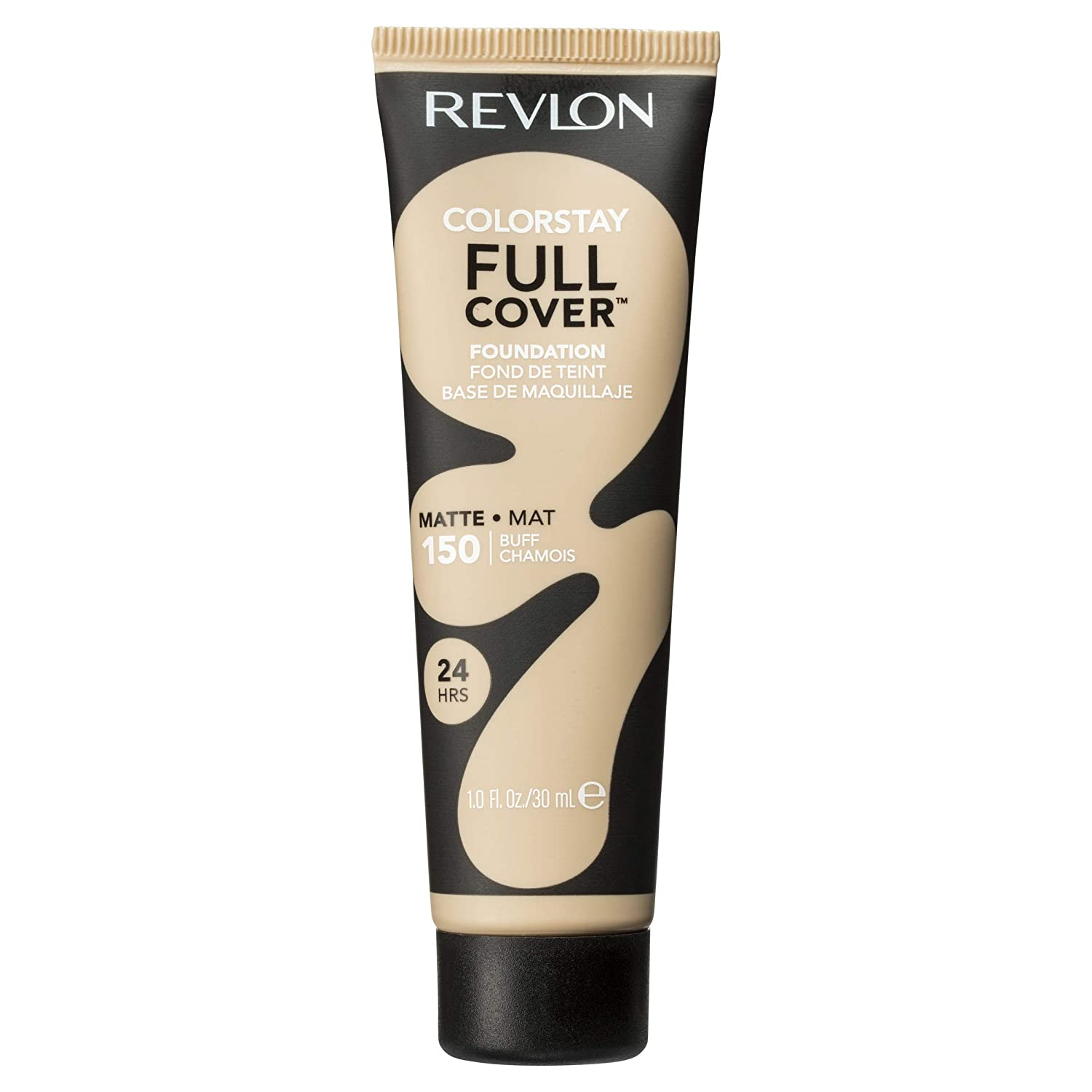 Revlon Color stay full cover foundation, buff, full coverage, matte finish, 30ml 1335-02