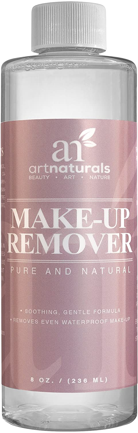 ArtNaturals Natural Oil-Free Makeup Remover - Cleansing Cosmetics – for Face - 8.0 oz