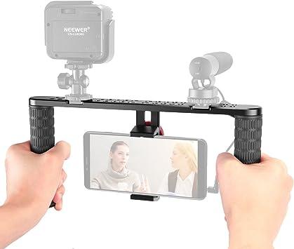 Neewer Estabilizador Metal de Smartphone, Video, Cinematografía ...