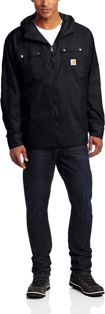 Carhartt - Chubasquero Rockford grande y largo para hombre