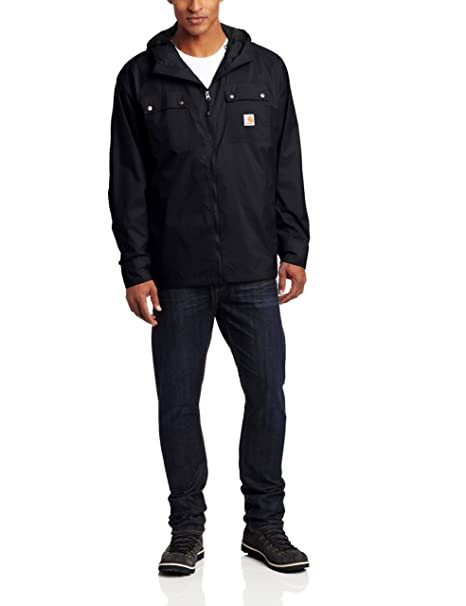 e8bdb767c Carhartt Men's Big & Tall Rockford Rain Defender Jacket