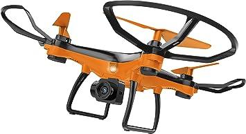 Denver DCH-240 Drone con cámara, Color Naranja, (w) x 20.00(d ...