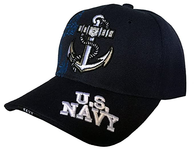 6e73df076ae U.S. NAVY Cap (Navy)  Amazon.in  Clothing   Accessories