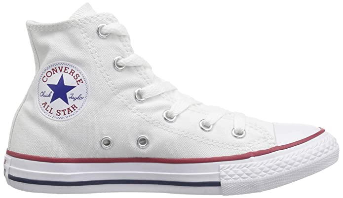 Amazon.com | Converse Infant/Toddler Chuck Taylor All Star Hi Top Shoes - Optical White, Optical White, 6 Infant | Sneakers