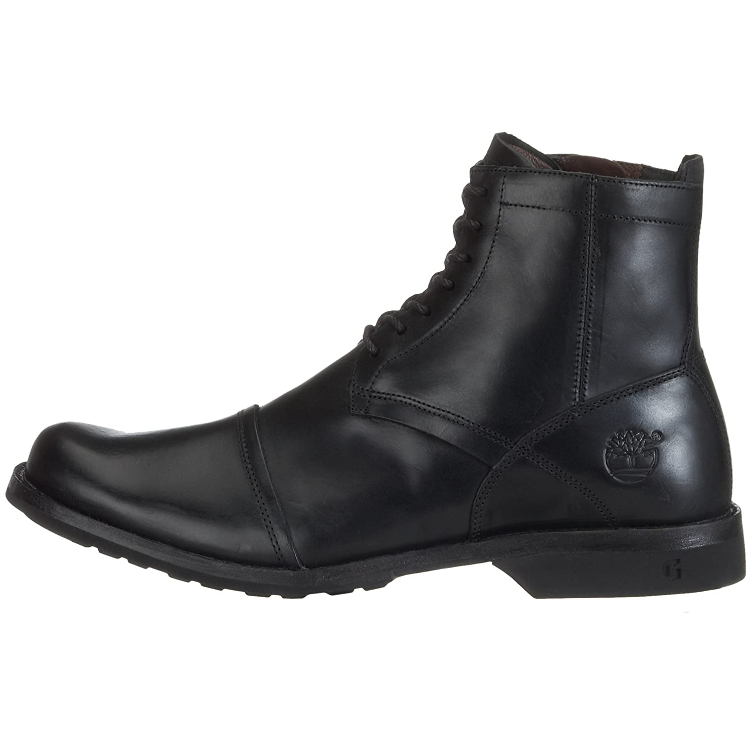 timberland earthkeepers 6 inch zip bottes black