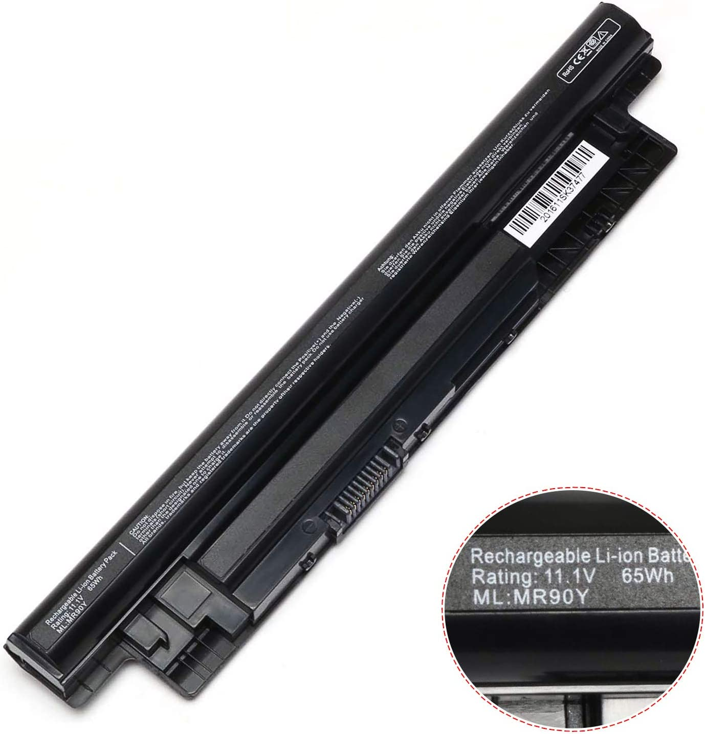 New MR90Y  XCMRD Laptop Battery Compatible with Dell Inspiron 15 5000 Series 15-3521 15-3537 15-3541 15-3542 15-5521 15R-N3521 15R-N5521 15R-1528R - 12 Months Warranty