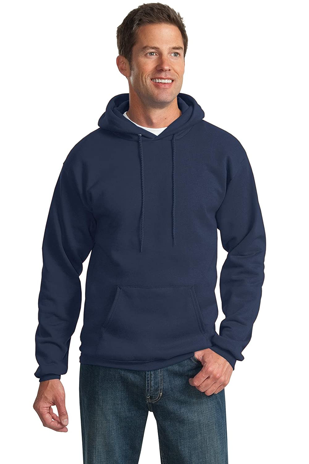 80%OFF Port & Company Men's Ultimate Hooded Sweatshirt