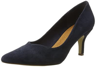 Bianco Damen Pump with V-Front 24-49223 Pumps, Schwarz (Black), 37 EU