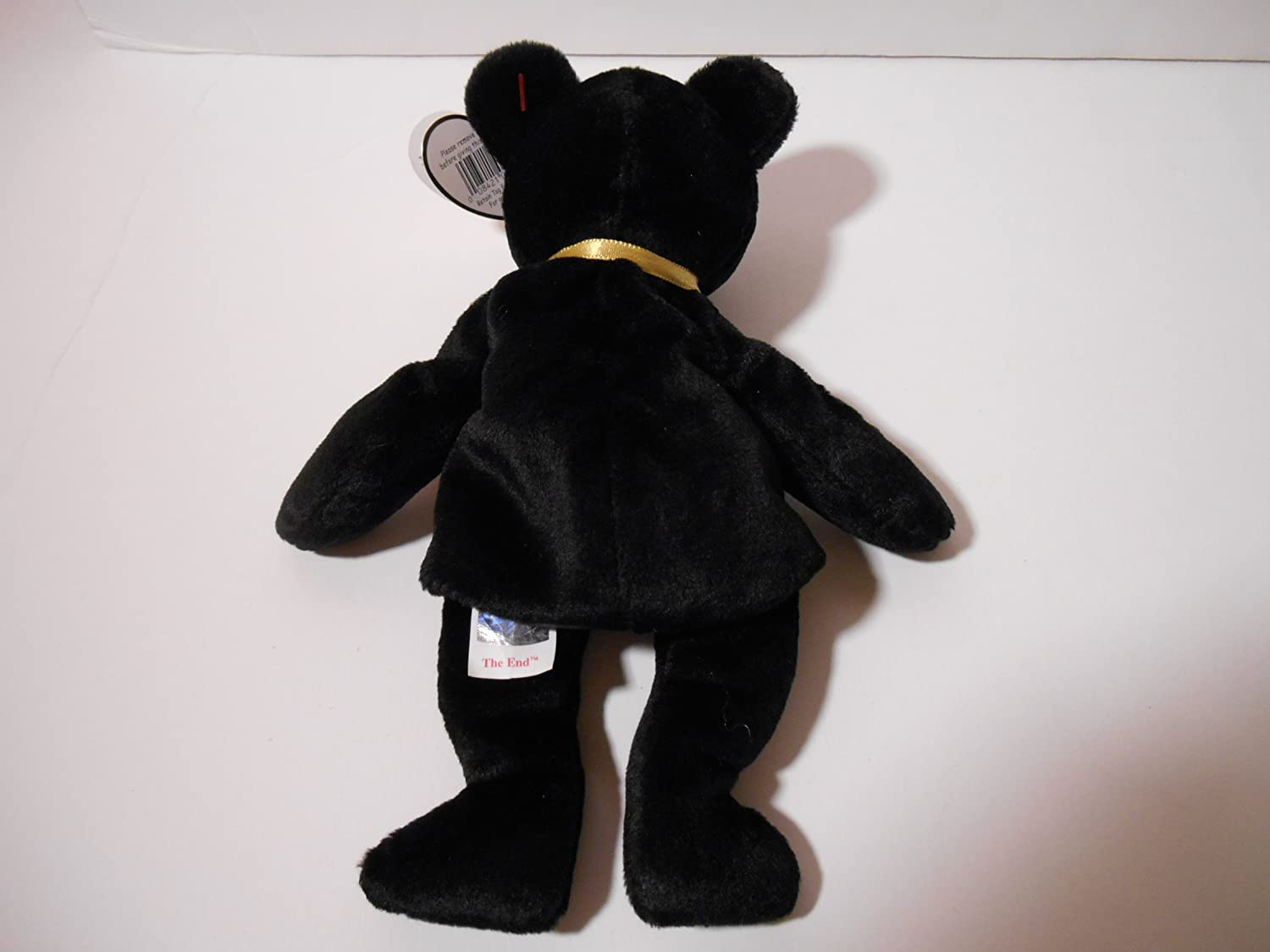 Amazon.com  Ty Beanie Babies - The End Black Teddy Bear  Holiday Gifts    Toys   Games 216e988f48