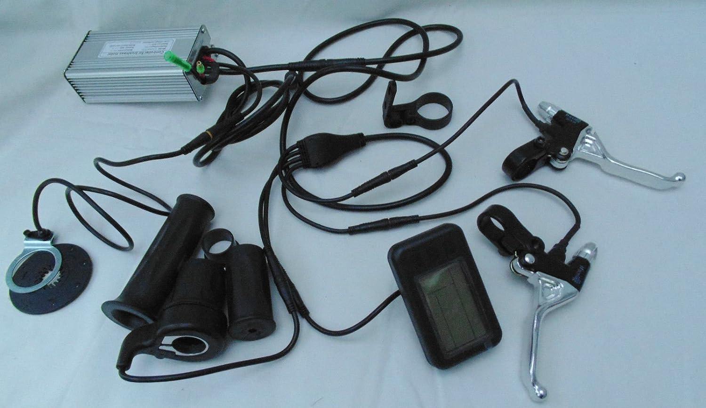 Electric bike kit controller brushless 48v 1000w KT1 LCD, throttle ...