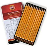 SET 12 HARD GRAPHITE TECHNICAL DRAWING PENCILS HB - 10H