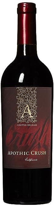 apothic california crush red wine