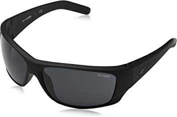 Arnette Mens Heist 2.0 0AN4215 Rectangular Sunglasses, FUZZY BLACK, ...