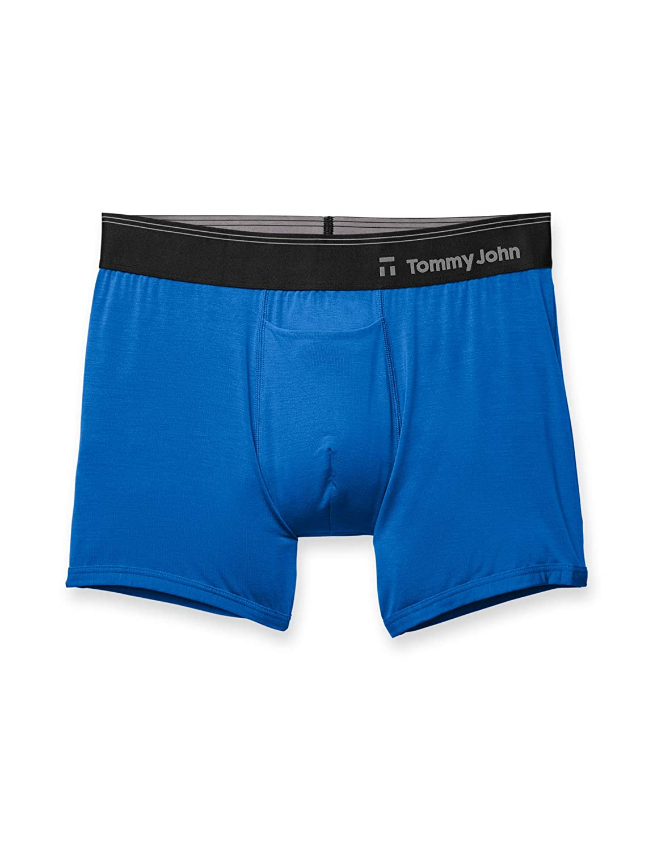 Tommy John Men's Second Skin Trunk Nautical Blue X-Large Tommy John Men' s Underwear