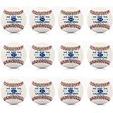 """Tera Balle de baseball pro/ softball couture à la main Taille 9"""", 7cm pour Amateurs ou professionnels"""