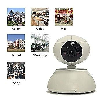 Cámaras de vigilancia / cámara de vigilancia inalámbrica IP, detección móvil / voz de dos