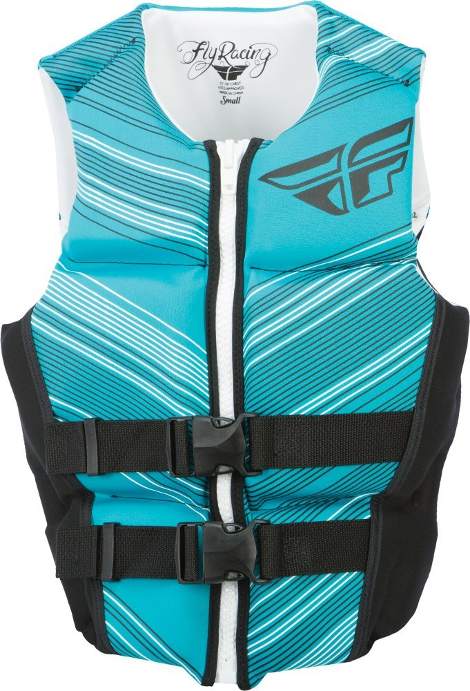 Fly Racing Womens Ladies Neoprene Vest Aqua//Black Small 221-23105