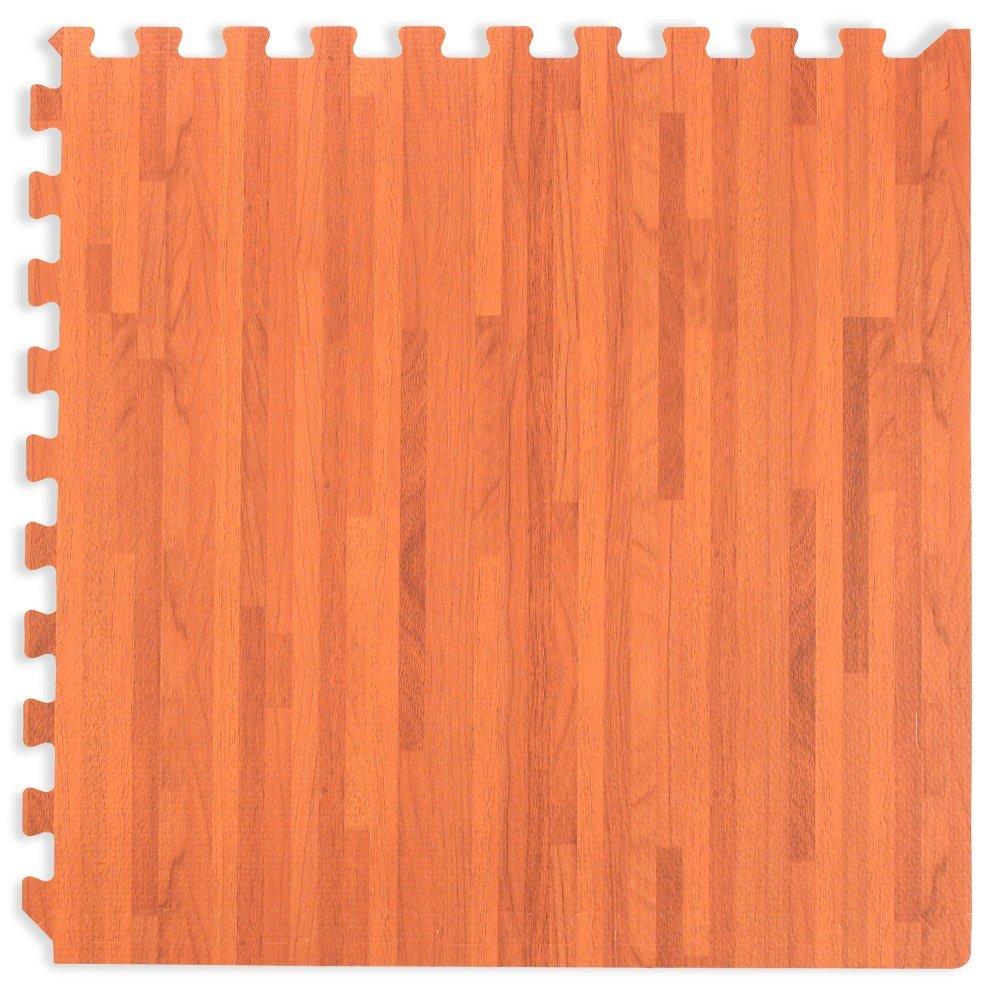 48 sqft 10mm wood foam interlocking tiles 12 tiles protective forest floor wood grain cork grain and bamboo grain interlocking foam anti fatigue flooring 2 doublecrazyfo Image collections