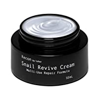 Recon by Luhar Snail Repair Cream All-In-One Facial Moisturizer – Anti-Wrinkle &...