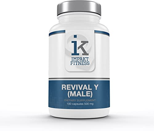 Revival Y Male All Natural Hormone Support Supplement Testosterone Booster