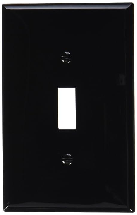 Leviton pj1 e 1 gang toggle switch wallplate midway size black leviton pj1 e 1 gang toggle switch wallplate midway size black sciox Gallery