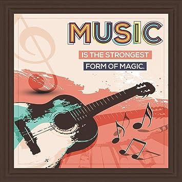 Giift4U Regalos para Guitarra, 7 x 7 Azulejos para decoración de ...