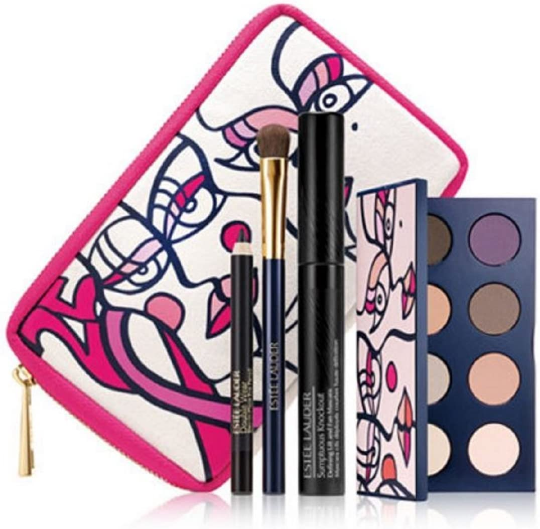 Estee Lauder - Estuche de regalo paleta pink ribbon knockout eyes collection compact estée lauder: Amazon.es: Belleza