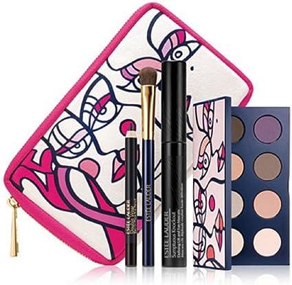 Estee Lauder - Estuche de regalo paleta pink ribbon knockout eyes collection compact estée lauder: Amazon.es: Belleza