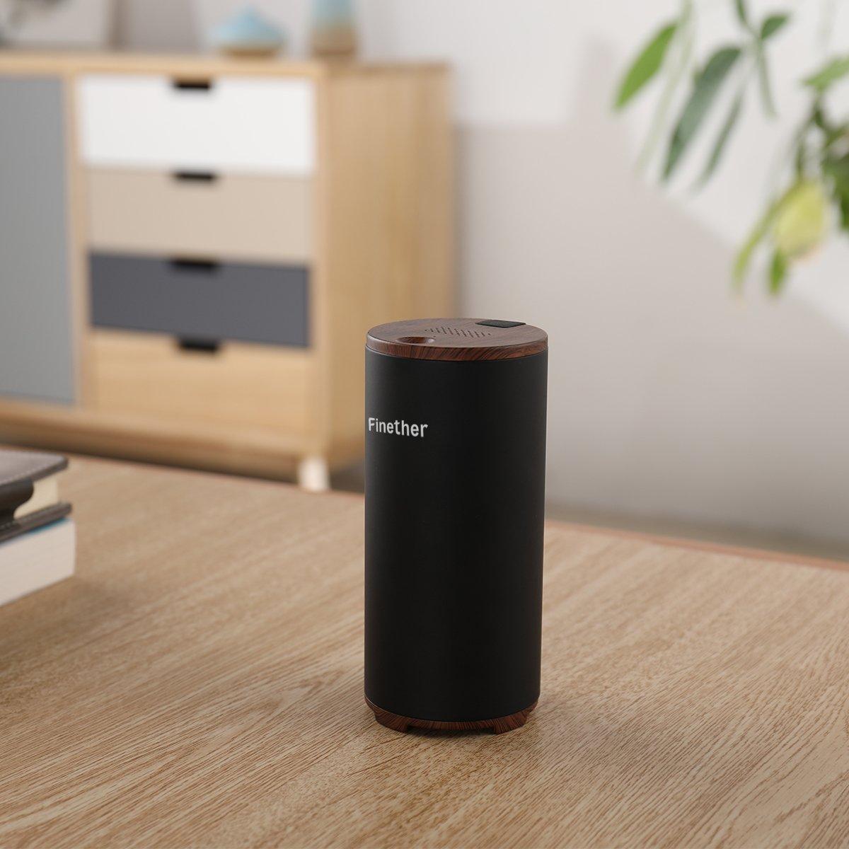 Finether Purificador de Aire Ambientador USB Ionizador de Aire Generador de Ozono