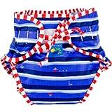 Kushies Baby Unisex Swim Diaper - Small,Ahoy Print,Small,