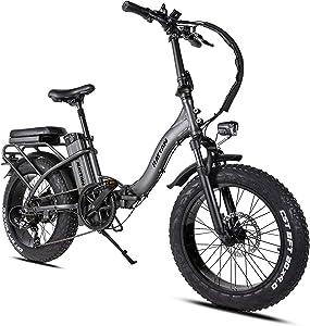Rattan LF750W  Folding Fat Tire Bike