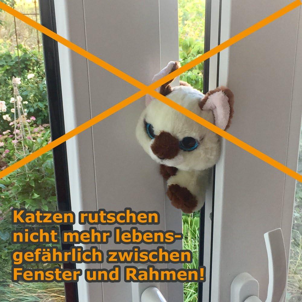 Fensterbremse Zuschlagschutz Kipp Schutz Katzen Klemmschutz
