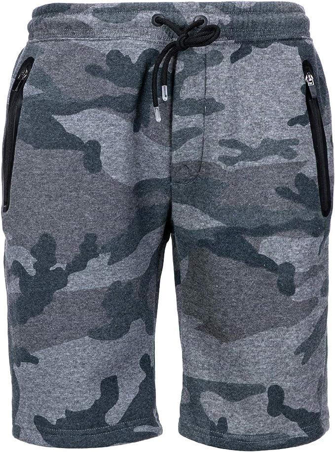 Amazon.com: Pantalones cortos para hombre, de forro polar ...