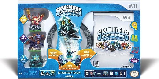 Activision Skylanders: Spyros Adventure - Starter Pack, Wii - Juego (Wii, Nintendo Wii, Acción, Toys For Bob, 13/10/2011, E10 + (Everyone 10 +), Fuera de línea): Amazon.es: Videojuegos