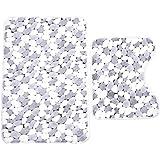 Amazon Com Chesapeake 2 Piece Pebbles 21 Inch By 34 Inch