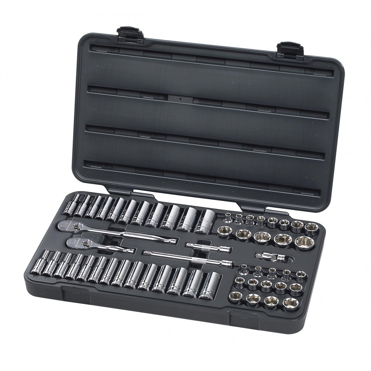GearWrench 80550 57 Piece 3/8-Inch Drive 6 Point Socket Set