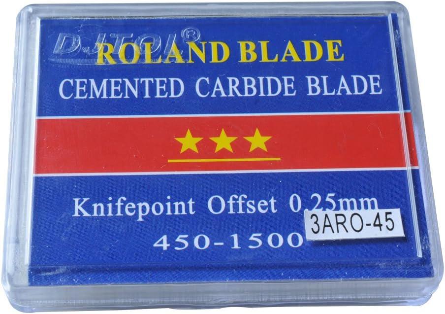 45 grados Roland Vinilo Plotter cuchillas cuchillo – 3 un grado 5pcs/pack: Amazon.es: Juguetes y juegos