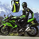 Greencolorful Motorcycle Backpack,Carbon Fiber