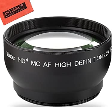 3 Piece Lens Filter Kit Multi-Threaded Made by Optics Canon VIXIA HF R700 High Grade Multi-Coated 43mm Nw Direct Microfiber Cleaning Cloth.