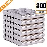 Pack of 50 LM LMCT100P 10 X 3 mm Refrigerator Magnets Premium Brushed Nickel Fridge Magnets Office Magnets