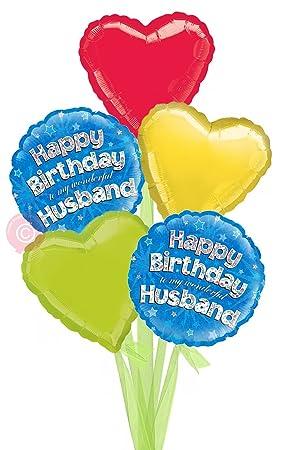 Happy Birthday Husband Holographic