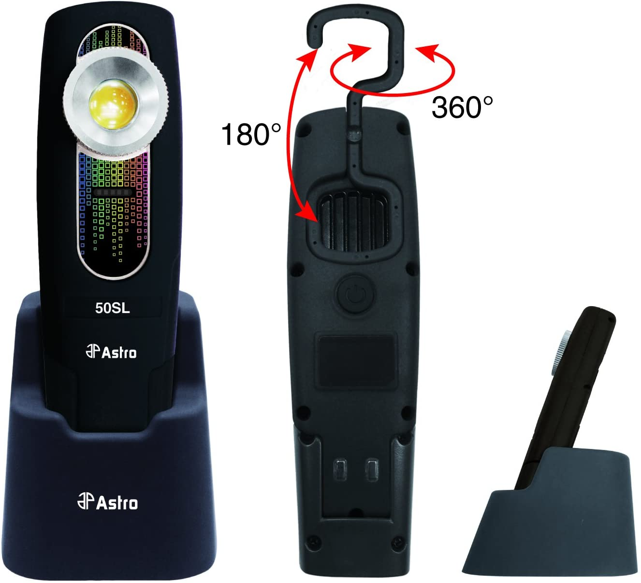 SunLight 400 Lumen Rechargeable Handheld Color Match Light AST-50SL Brand New!